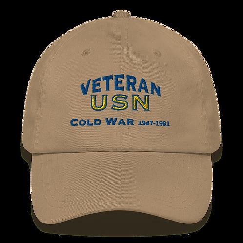 Cold War Veteran Dad hat