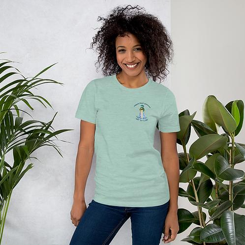 Alligator Reef Lighthouse Short-Sleeve Unisex T-Shirt