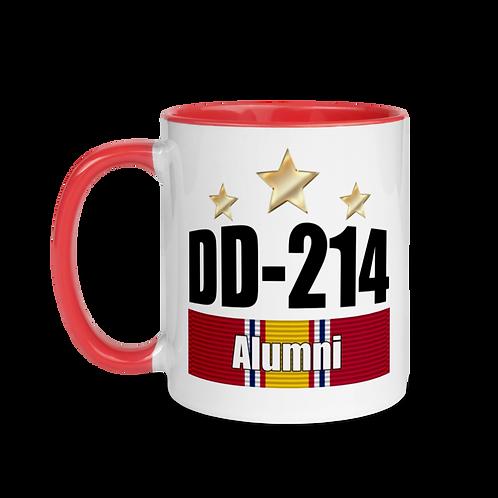 DD-214 Alumni Mug with Color Inside