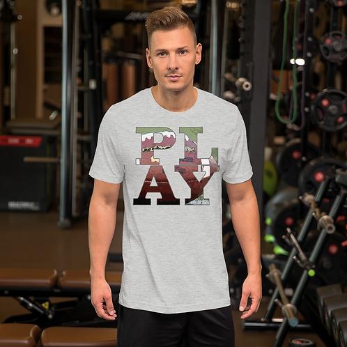 PLAY football Short-Sleeve Unisex T-Shirt