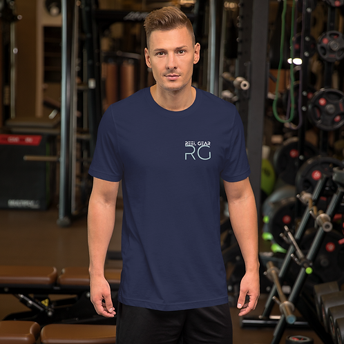 Jumping Sail with RG LOGO on front chest Short-Sleeve Unisex T-Shirt
