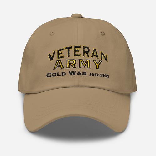 Army Veteran Cold War Dad hat