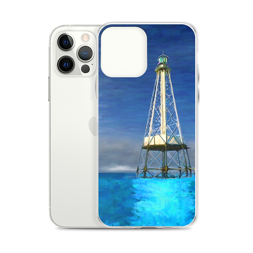 Alligaor Reef Lighthouse iPhone Case