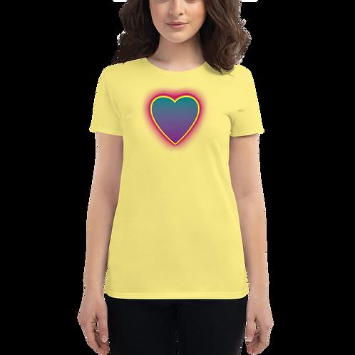 Hot Heart Women's short sleeve t-shirt