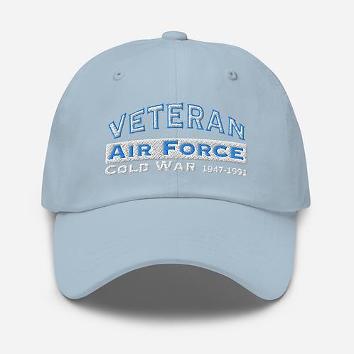 Veteran Air Force Cold War Dad hat