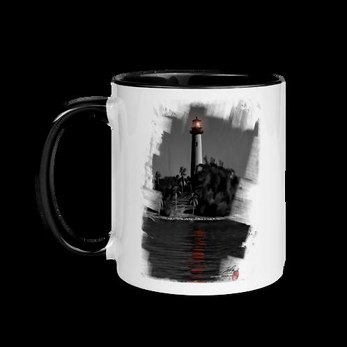Jupiter Inlet Lighthouse Mug with Color Inside