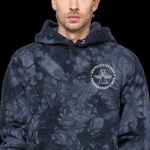 PH WITH WINGS Unisex Champion tie-dye hoodie
