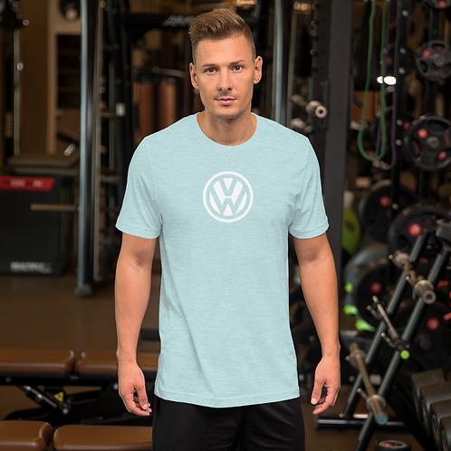 VW LOGO WHITE Short-Sleeve Unisex T-Shirt