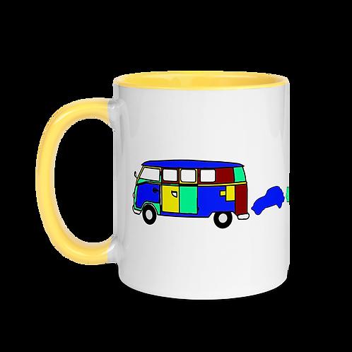 VW Family Mug with Color Inside