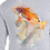 Thumbnail: Red Fish on Florida Map (Reel Gear logo front chest) Men's Long Sleeve Shirt