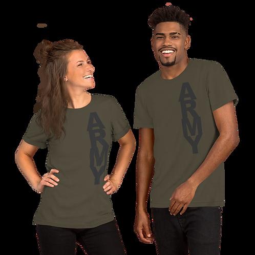 ARMY (dk gray) Short-Sleeve Unisex T-Shirt