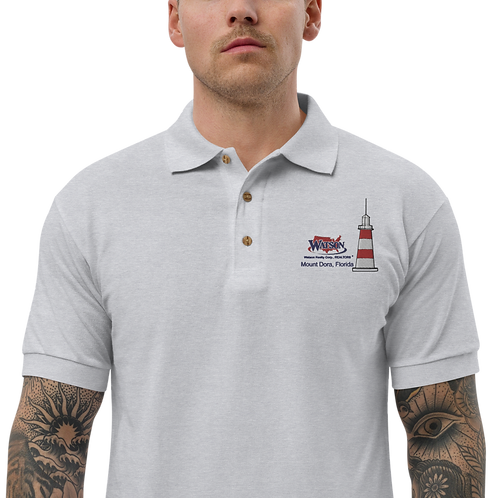 Watson Realty Lighthouse Embroidered Polo Shirt