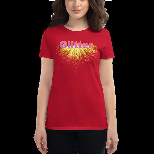 GLITTER Women's short sleeve t-shirt