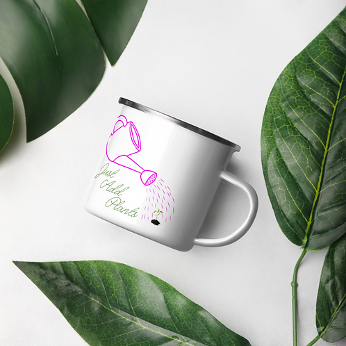 Just add plants Enamel Mug