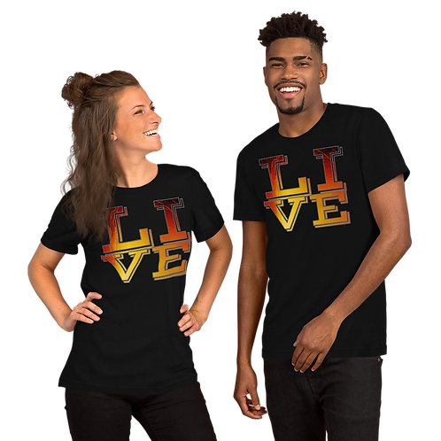 LIVE Short-Sleeve Unisex T-Shirt