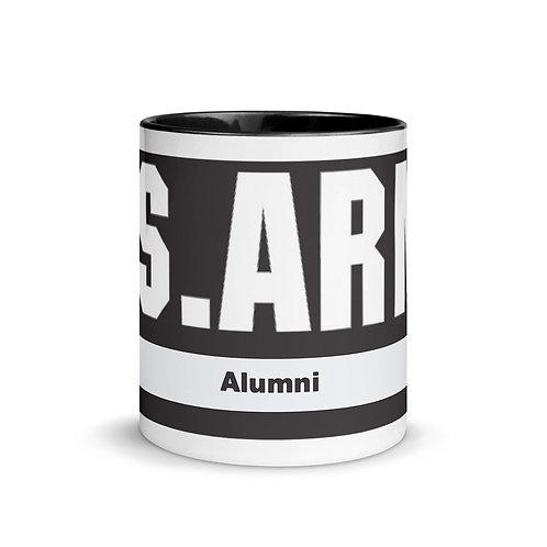 Army Alumni Mug with Color Inside