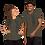 Thumbnail: USMC (dk grey) Short-Sleeve Unisex T-Shirt