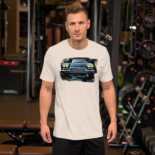Black Vette Short-Sleeve Unisex T-Shirt