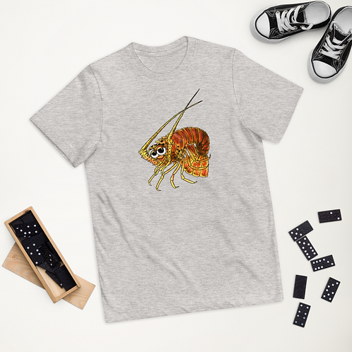 """""""JIBE THE FLORIDA LOBSTER"""" Youth jersey t-shirt"""