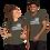Thumbnail: We the People Flag Short-Sleeve Unisex T-Shirt