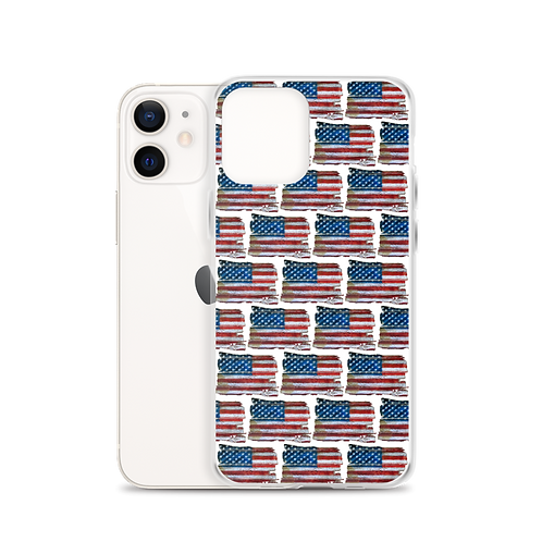 We the People Flag iPhone Case