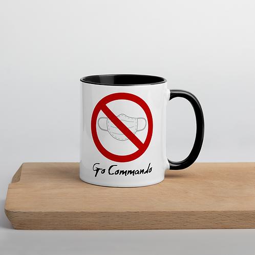 Go Commando Mug with Color Inside