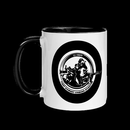 "CCG ""80s"" design Mug with Color Inside"