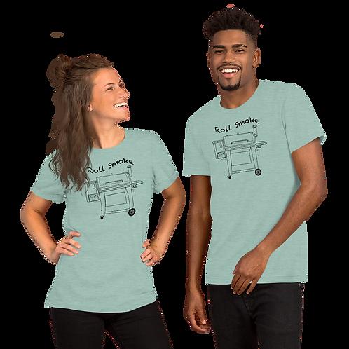 Roll Smoke Short-Sleeve Unisex T-Shirt