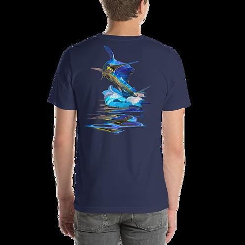 Jumping Sailfish Short-Sleeve Unisex T-Shirt