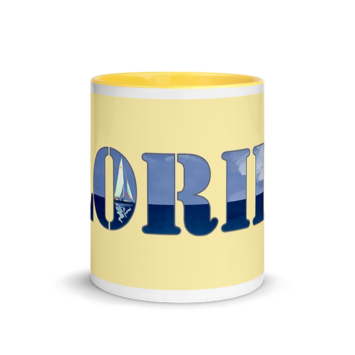 FLORIDA Mug with Color Inside