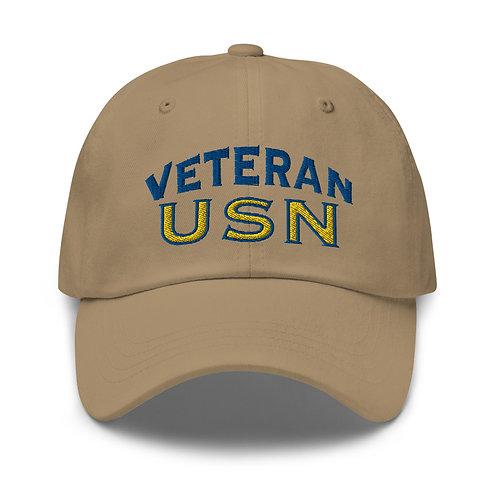 Veteran USN Dad hat
