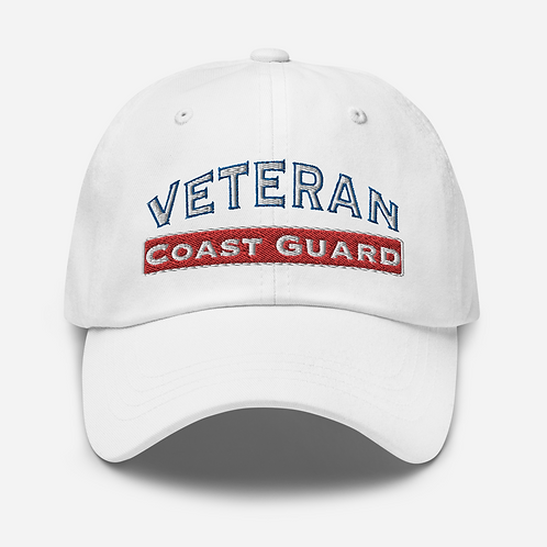 Coast Guard Veteran Dad hat