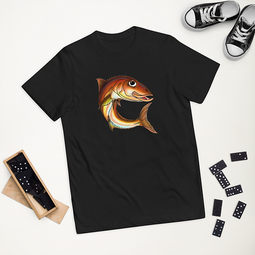"""""""GUNNEL THE COBIA"""" Youth jersey t-shirt"""