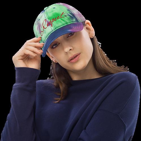 Respect Tie dye hat