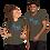 Thumbnail: ONE LOVE (gradient) Short-Sleeve Unisex T-Shirt