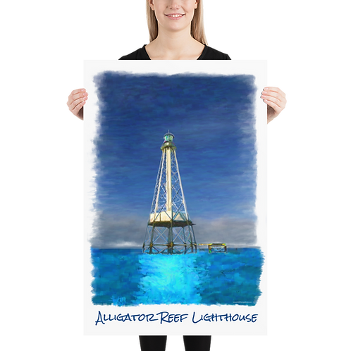 Alligator Reef Lighthouse Poster