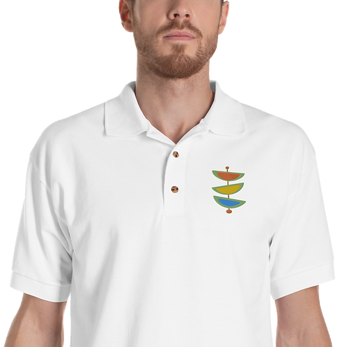 Design 208 Embroidered Polo Shirt