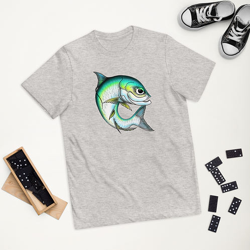 """""""WHISKER THE TARPON"""" Youth jersey t-shirt"""