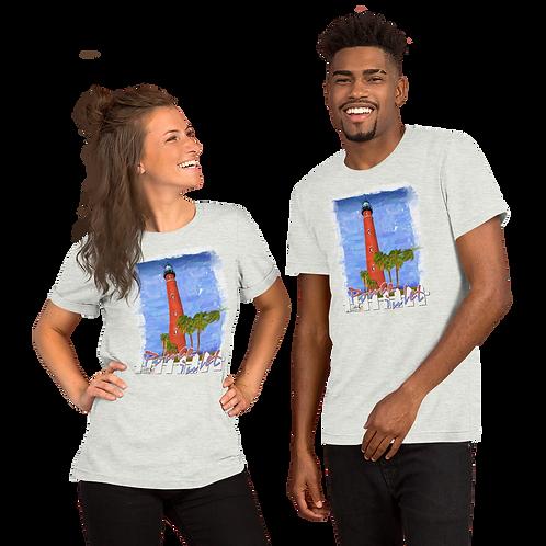 PONCE INLET LIGHTHOUSE Short-Sleeve Unisex T-Shirt