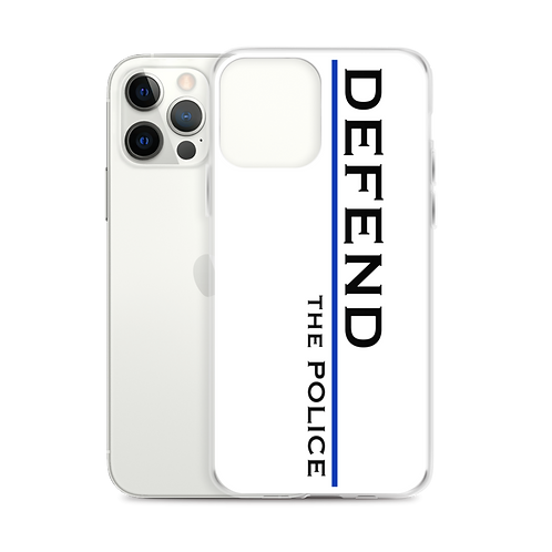 DEFEND the Police iPhone Case