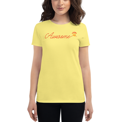AWESOME Women's short sleeve t-shirt