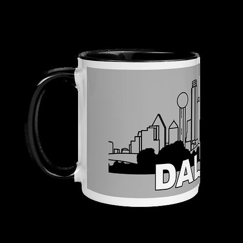 DALLAS Mug with Color Inside