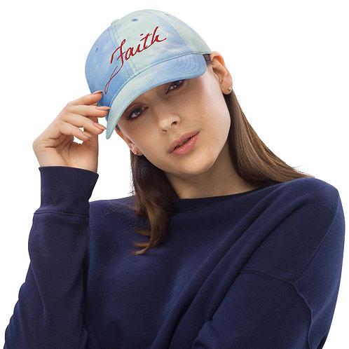 Faith Tie dye hat