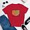 Thumbnail: 4x5 Film Heart Women's short sleeve t-shirt