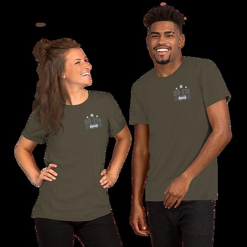 DD-214 Grey Short-Sleeve Unisex T-Shirt