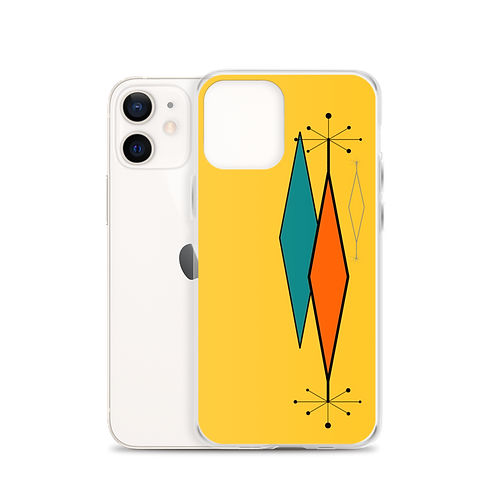 Mid Century Design 207 iPhone Case