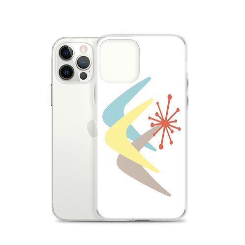 Mid Century Design 202 iPhone Case