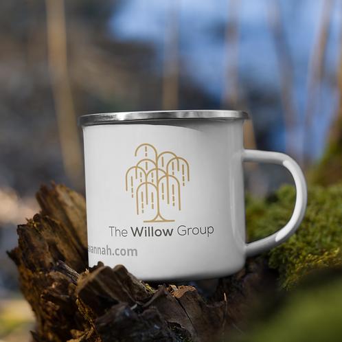 The Willow Group Enamel Mug
