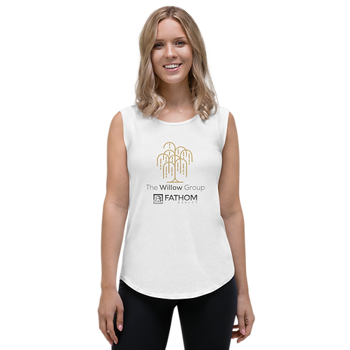 The Willow Group Ladies' Cap Sleeve T-Shirt
