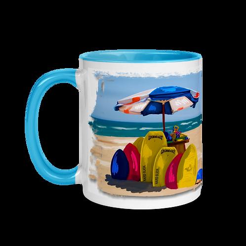 Beach Mug with Color Inside